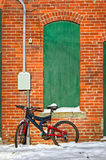 Bicycle Against Building Royalty Free Stock Image