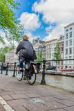 Bicycle in Amsterdam, Netherlands. Royalty Free Stock Photos