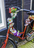 Bicycle in Amsterdam Royalty Free Stock Photography