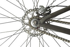 Bicycle Back Wheel Stock Images