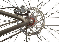 Bicycle Back Wheel Royalty Free Stock Photos