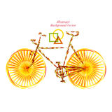 Bicycle Background abstract illustration object gradient Stock Image