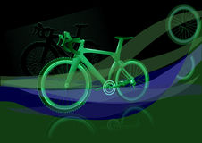 Bicycle background Royalty Free Stock Images