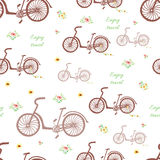 Bicycle background Stock Photography