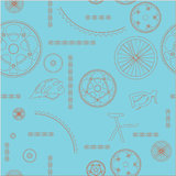 Bicycle background seamless Stock Photography