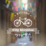 Bicycle background Stock Photo