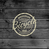 Bicycle badges logos and labels for any use Royalty Free Stock Photography