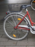 Bicycle with basket Royalty Free Stock Photo
