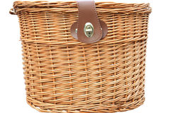 Bicycle basket Stock Photos