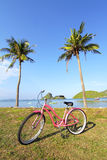 Bicycle at the beach Royalty Free Stock Photos