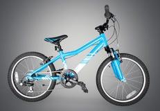 Bicycle. Mountain bike wheel tire sport single object white royalty free stock image
