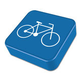 Bicycle / bike icon. Vector illustration Royalty Free Stock Photos