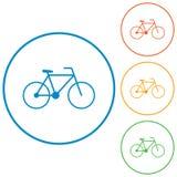 Bicycle / bike icon Stock Images