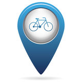 Bicycle / bike icon Royalty Free Stock Photography
