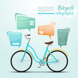 Bicycle or bike related fitness and sports Stock Image