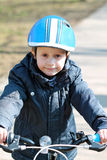 The bicycle boy Stock Photography