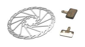 Bicycle brake Stock Photo