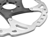 Bicycle brake disc Royalty Free Stock Photography