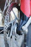 Bicycle brake disk Stock Image