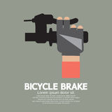 Bicycle Brake stock illustration