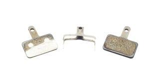 Bicycle brake pads Royalty Free Stock Images