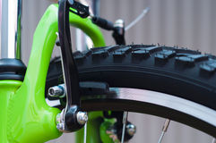 Bicycle brakes Royalty Free Stock Photography