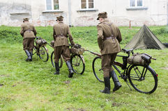 Bicycle Branch of Military Stock Photos