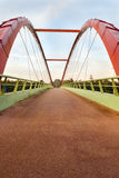 Bicycle bridge Royalty Free Stock Photos