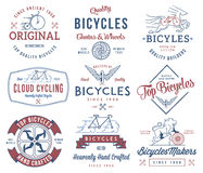 Bicycle Builder set 1 Colored Stock Photography