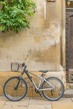 Bicycle in Cambridge University Stock Photos