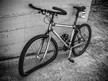 Bicycle after a car crash