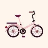 Bicycle cartoon design elements vector Stock Image