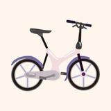 Bicycle cartoon design elements vector Royalty Free Stock Photos