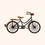 Bicycle cartoon design elements vector Stock Images
