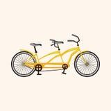 Bicycle cartoon design elements vector Stock Photography