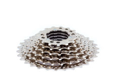 Bicycle cassette Royalty Free Stock Images