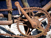 Bicycle chain Royalty Free Stock Photography