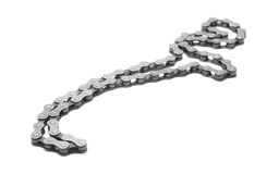Bicycle chain Royalty Free Stock Images
