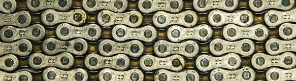 Bicycle chain Royalty Free Stock Photo