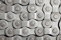 Bicycle chain background. Royalty Free Stock Image