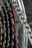 Bicycle chain. Stock Photography