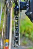 Bicycle chain closeup Stock Photos