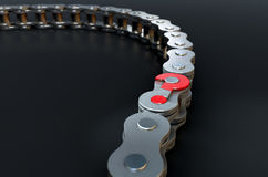 Bicycle Chain Missing Link Royalty Free Stock Photo