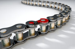 Bicycle Chain Missing Link Royalty Free Stock Image