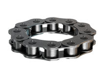 Bicycle chain ring Royalty Free Stock Photography