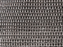 Bicycle chain texture for background Stock Images