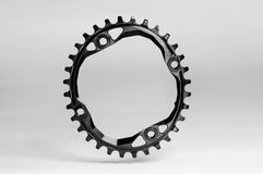 Bicycle chainring oval Royalty Free Stock Images