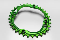 Bicycle chainring oval Stock Image