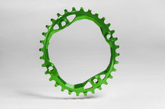 Bicycle chainring oval Stock Images