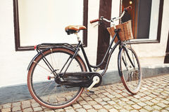 Bicycle in the city Royalty Free Stock Photo